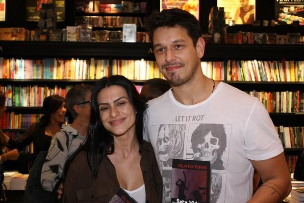 Cléo Pires e o namorado, João Vicente (Foto: Henrique Oliveira / Photo Rio News)
