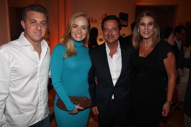 Luciano Huck e Angélica em evento no Copacabana Palace, na Zona Sul do Rio (Foto: Fred Pontes/ Divulgação)