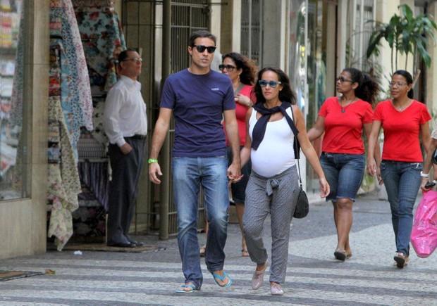 Ricardo Pereira e Francisca Pinto (Foto: André Freitas/Agnews)