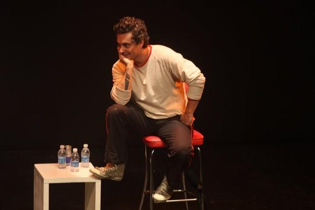 Alexandre Nero é o convidado especial da peça 'Z.E.' no Rio. (Foto: Onofre Veras/ Ag. News)