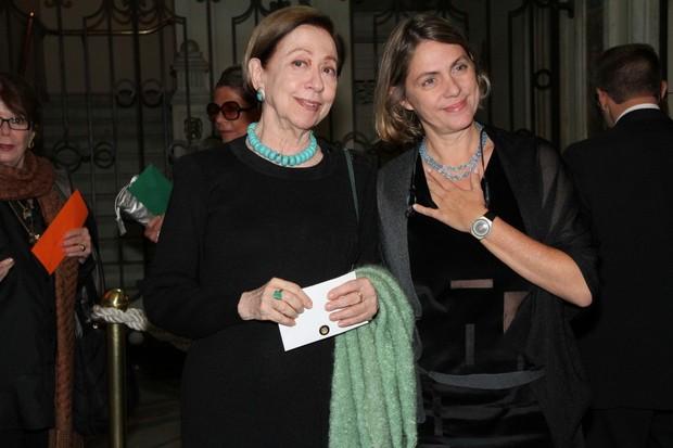 Fernanda Montenegro e Carla Camurati (Foto: Roberto Filho / AgNews)