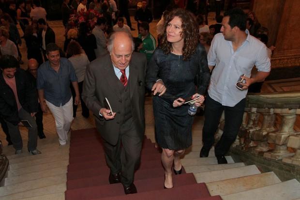 Ary Fontoura e Patrícia Pillar (Foto: Roberto Filho / AgNews)