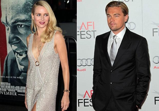 Naomi Watts e Leonardo DiCaprio na première de 'J. Edgar' em Hollywood, nos Estados Unidos. (Foto: Getty Images/ Agência)