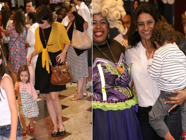 Débora Falabella e Dira Paes (Foto: Alice Silva / Ag News)