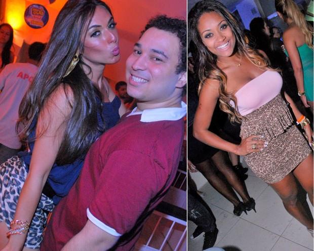 Nicole Bahls e Jaqueline do BBB (Foto: Laura Paranhos/Divulgação)