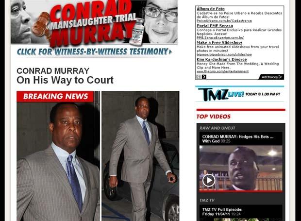 Veredito do caso Michael Jackson (Foto: Reprodução/ TMZ)