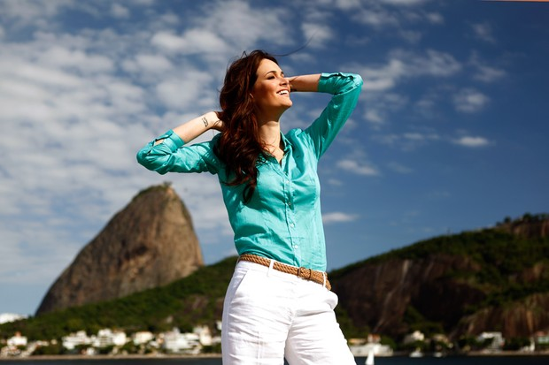 Miss Brasil Priscila Machado posa para o EGO (Foto: Marcos Serra Lima/EGO)