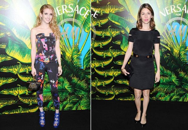 Emma Roberts e Sofia Coppola em evento de moda em Nova York, nos Estados Unidos (Foto: Getty Images/ Agência)