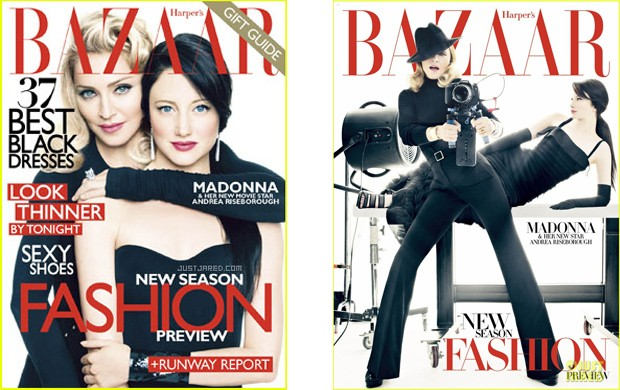 Madonna Revista Bazaar (Foto: Reprodução)