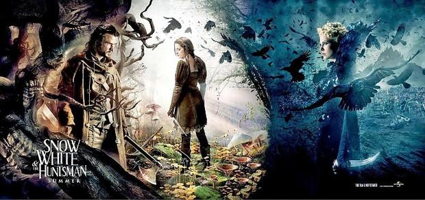 Novo cartaz do filme 'Branca de Neve e o Caçador' (Foto: Divulgação)