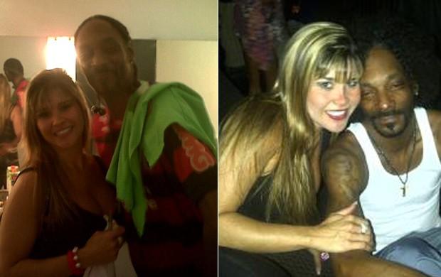 Mulher Maçã e Snoop Dogg (Foto: Divulgação)