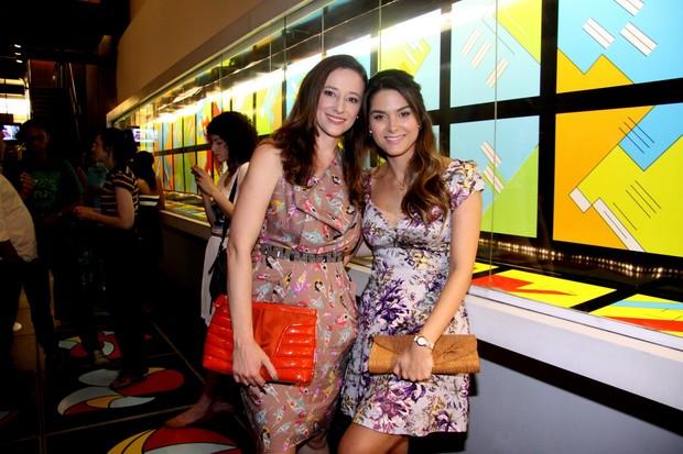 Paula Braun e Fernanda Machado (Foto: Alex Palarea/AgNews)