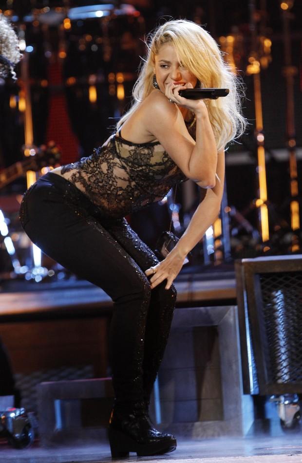 Shakira na 12ª edição do Grammy Latino em Las Vegas, nos Estados Unidos (Foto: Reuters/ Agência)