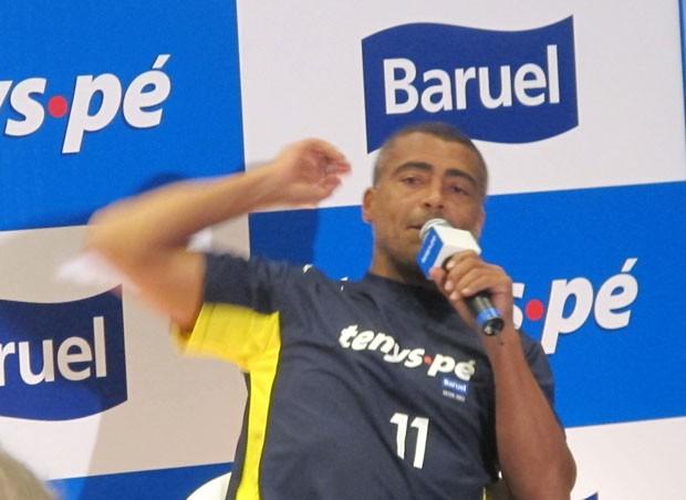 Romário (Foto: Felipe Abílio / EGO)