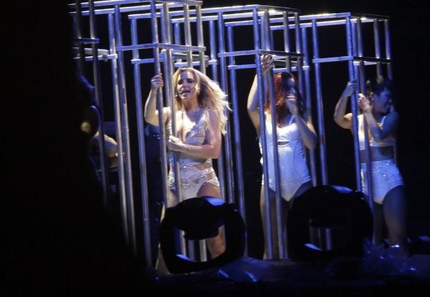 Britney Spears faz show no Rio (Foto: Isac Luz/EGO)