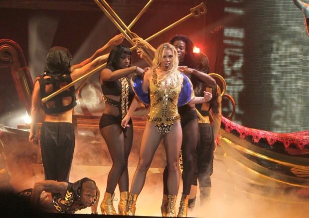 Britney Spears faz show no Rio (Foto: Isac Luz/ EGO)