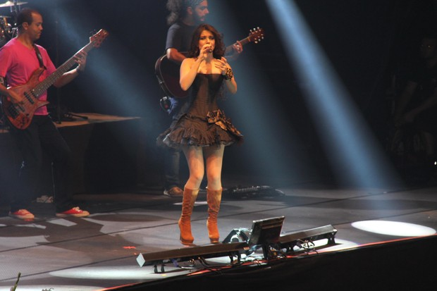Paula Fernandes (Foto: Wesley Costa/AgNews)