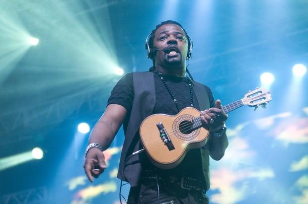 Revelação em show no Rio (Foto: Mariana Oliver/ Divulgação)