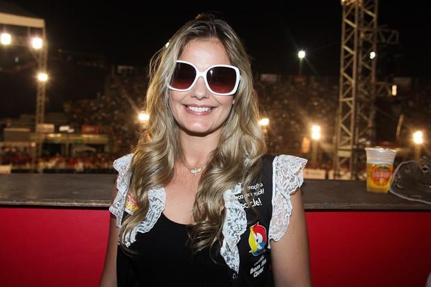 Milena Domingues em rodeio no interior de São Paulo (Foto: Manuela Scarpa/ Photo Rio News)