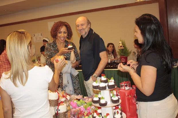 Valeria Valenssa e Hans Donner (Foto: Clayton Militão e Luiz Otavio Pinheiro/Photorio News)