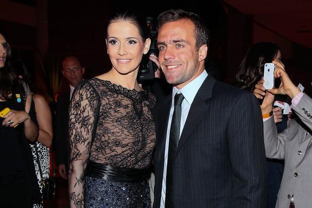 Debora Secco e Roger Flores (Foto: Manuela Scarpa / Photo Rio News)