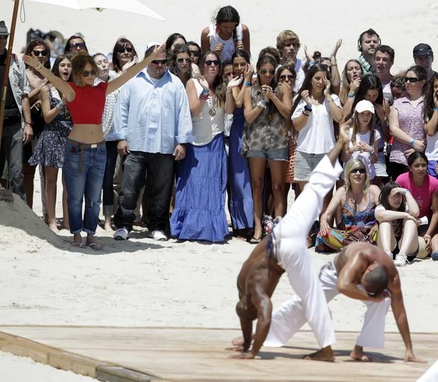 Jennifer Lopez no Uruguai (Foto: Agência/Reuters)