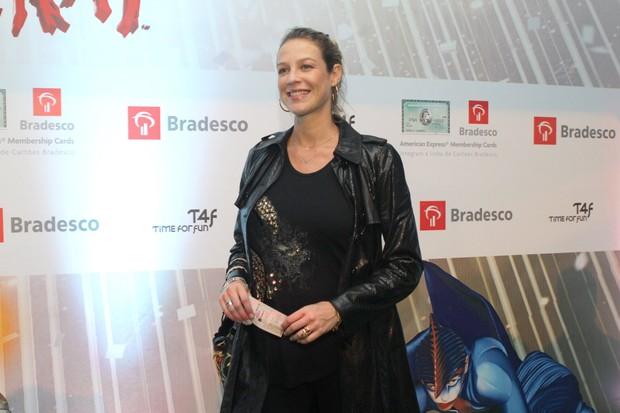 Luana Piovani no espetáculo 'Varekai', do Cirque du Soleil (Foto: Raphael Mesquita / Photo Rio News)