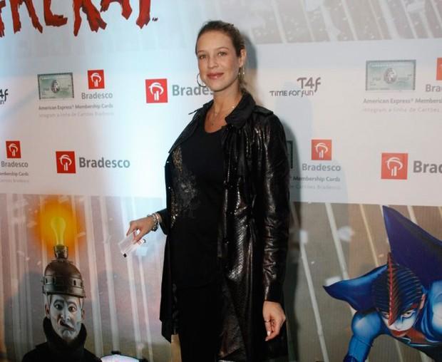 Luana Piovani no espetáculo 'Varekai', do Cirque du Soleil (Foto: Philippe Lima e Felipe Assumpção / AgNews)