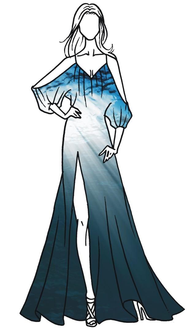 Figurino Claudia Leitte (Foto: Divulgação)
