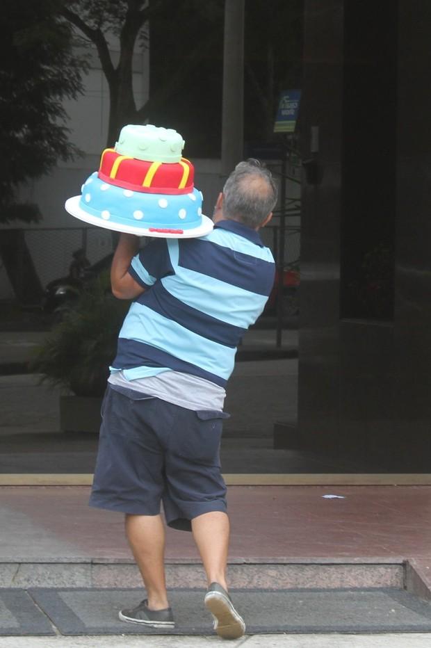 Festa de aniversário de Pedro, filho da Juliana Paes (Foto: Alex Palarea e Dlson Silva / AgNews)