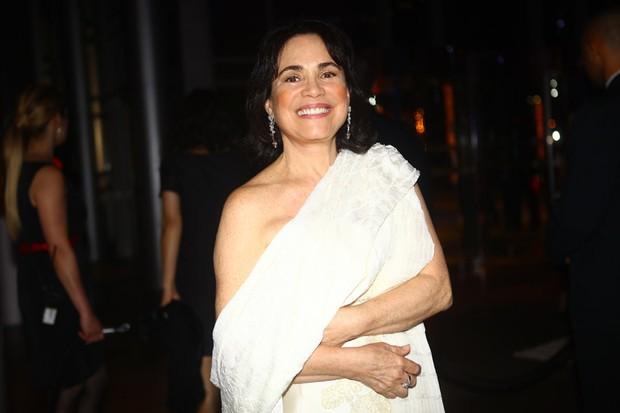Regina Duarte também esteve no evento (Foto: Iwi Onodera/EGO)