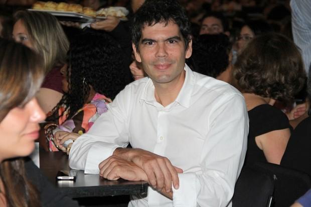 Dado Villa-Lobos no show de Roberto Carlos no rio (Foto: Roberto Filho/ Ag.News)