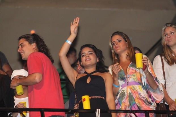 Guilherme Boury e Carol Macedo em festa no Rio (Foto: Onofre Veras/ Ag. News)