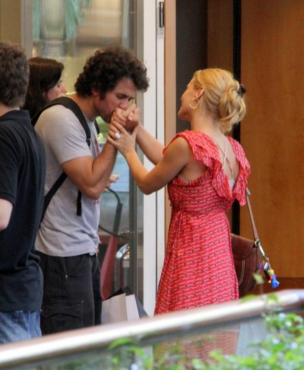 Carolina Dieckmann e Eriberto Leão (Foto: Daniel Delmiro/AgNews)