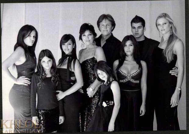 Família Kardashian (Foto: Reprodução/Site Oficial)