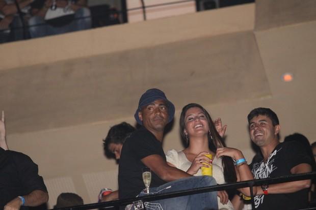 Romário em festa no Rio (Foto: Onofre Veras/ Ag. News)