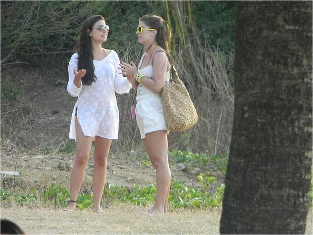 Isis Valverde e Bárbara Borges (Foto: Daliana Martins / Pernambuco 360º)