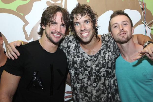 Rodrigo, Mauricio BBB, Igor (Foto: Adriel Douglas e David Weltre/Divulgação)