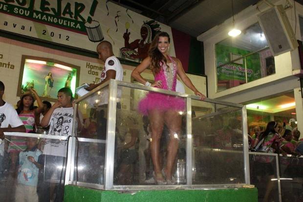Renata Santos (Foto: Fábio Martins / Ag. News)
