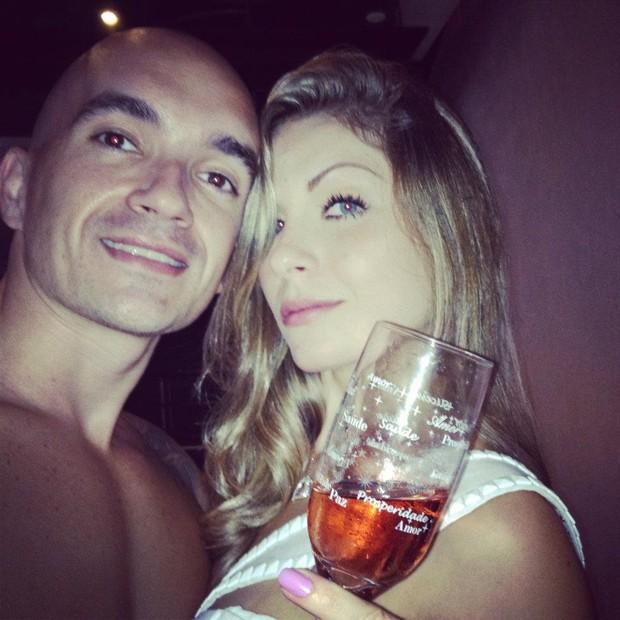 Renata e o ex-namorado, Filipe (Foto: Reprodução/Facebook)