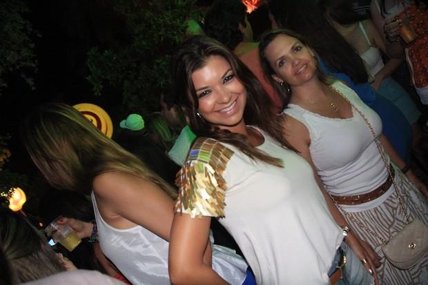Amanda Françoso no Ensaio do Harém, em Salvador na Bahia (Foto: Fred Pontes/ Divulgação)