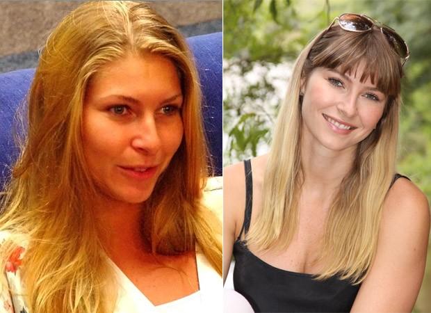 BBB 10 anos - Helena Louro BBB1 (antes e depois) (Foto: TV GLobo/ Divulgação)
