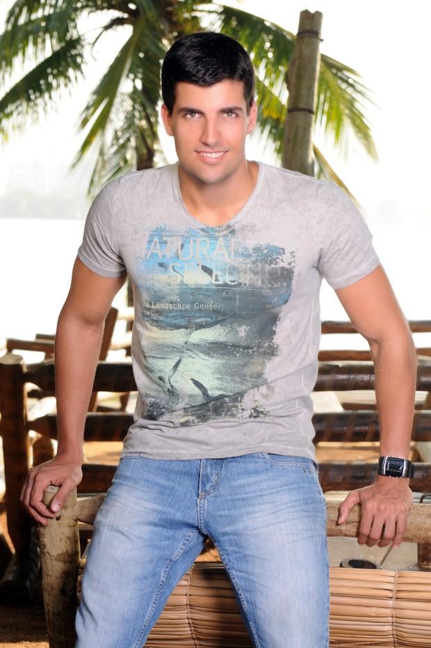 Diogo Pombo (Foto: Wagner Carvalho)