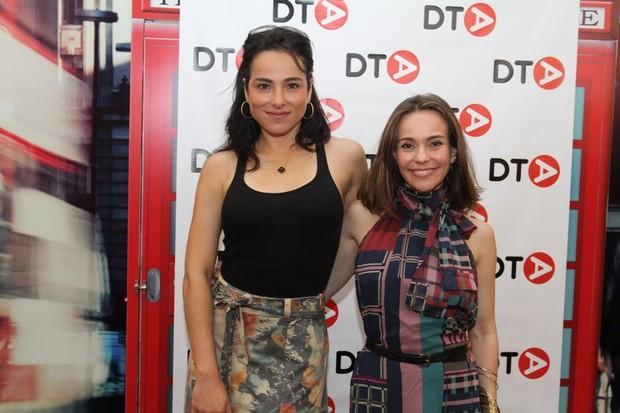 Cássia Linhares e Flávia Monteiro (Foto: Anderson Borde/Agnews)