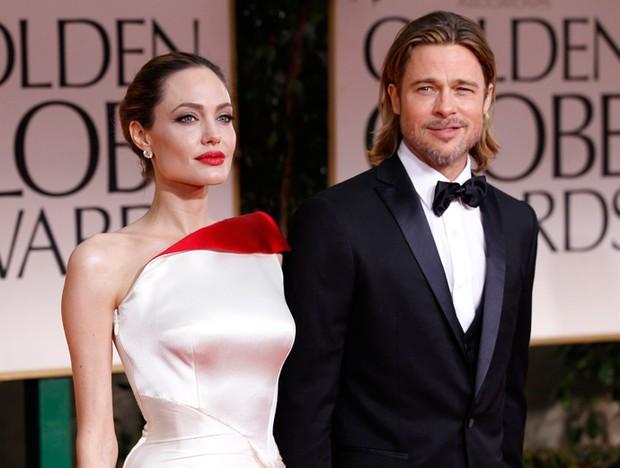 Angelina Jolie e Brad Pitt (Foto: Reuters)