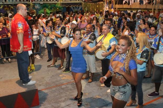 Graciella Carvalho, vice do Miss Bumbum, é apresentada como musa da Unidos do Tucuruvi (Foto: Divulgação)