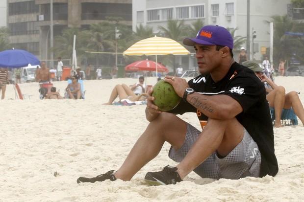 Vitor Belfort no RJ (Foto: Edson Teófilo/Photorio News)