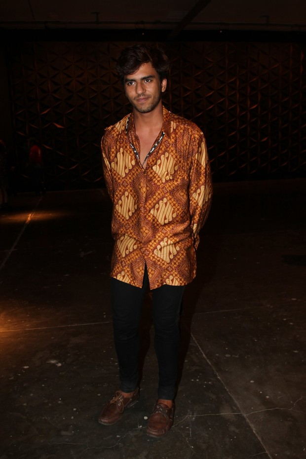 Alexandre Mortágua no SPFW (Foto: Ricardo Leal / Photo Rio News)