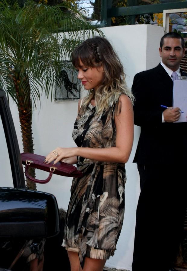 Juliana Didone no casamento do Diretor Daniel Filho e Olivia Byington na Gavea - RJ (Foto: Henrique Oliveiroa/ Photo Rio News)