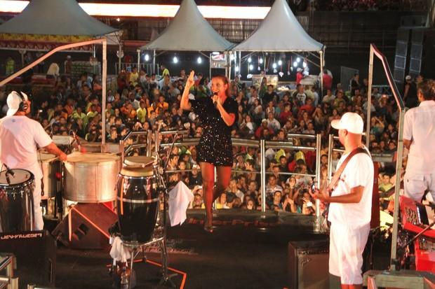 Ivete Sangalo se apresenta no Cabofolia (Foto: Clayton Militão/PhotoRio News)